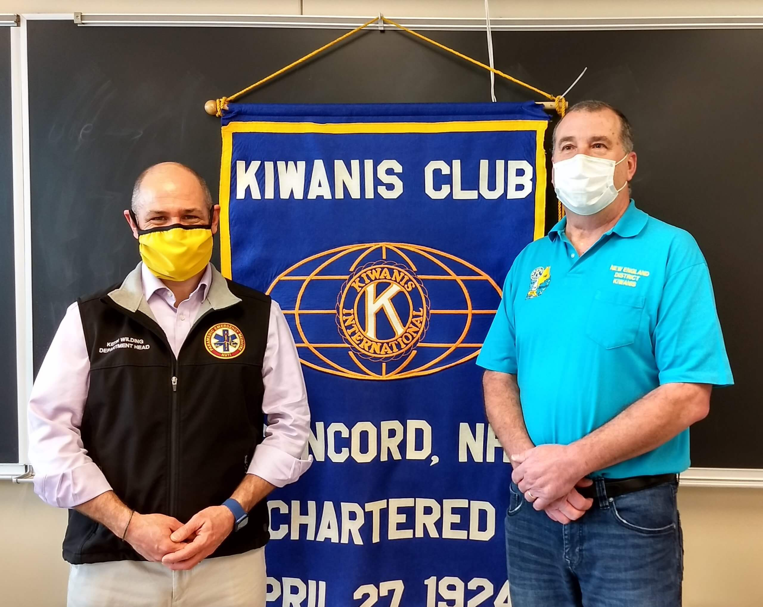 NHTI Receives Gift from Kiwanis Club