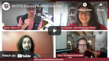 Podcast: Express Admissions Days and Belonging at NHTI